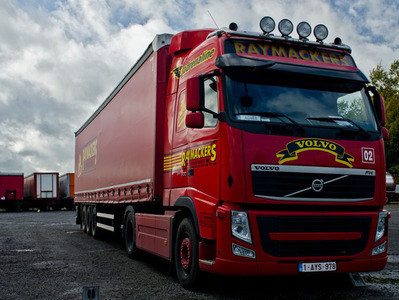 Raymackers Transports sprl - Nos Véhicules